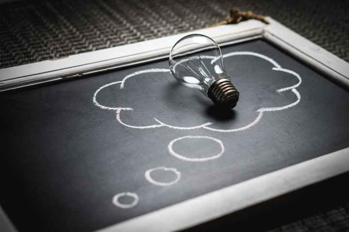 blackboard business chalkboard concept